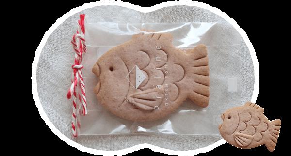 めで鯛クッキー 写真