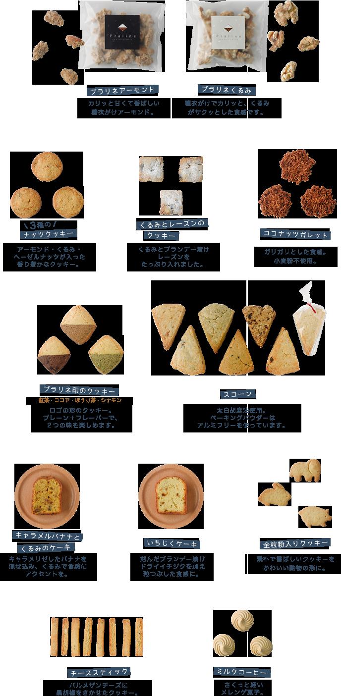 お菓子の紹介