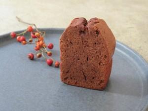 17.11.27 チョコパウンドケーキ